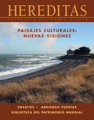 paisajes culturales - Revista America Patrimonio