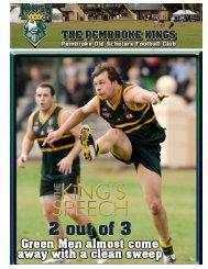 Round 5 - Pembroke Kings