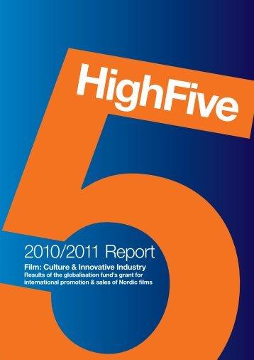 2010/2011 Report - Nordisk Film & TV Fond