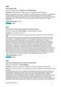 13 July 2010 15.00 – 17.30 Workshops Sprache: Deutsch Language ... - Page 2
