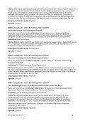 13 July 2010 15.00 – 17.30 Workshops Sprache: Deutsch Language ... - Page 5
