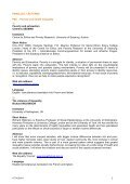 IFOTES CONGRESS VIENNA 2010 PLENARY ... - IFOTES und TSÖ - Page 2