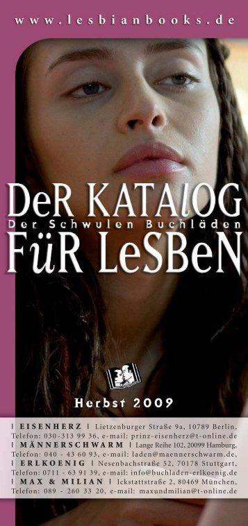 Werbetext im Katalog der schwulen Buchläden - Femme!
