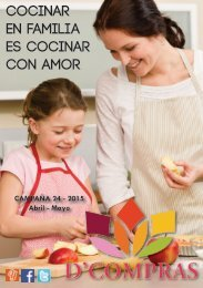 Catálogo D'Compras Abril Mayo 2015