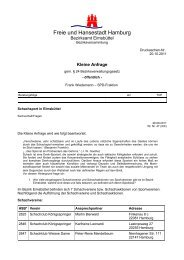 Freie und Hansestadt Hamburg - SPD-Fraktion Eimsbüttel
