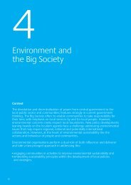 4. Environment and the Big Society - One East Midlands