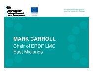 MARK CARROLL - One East Midlands