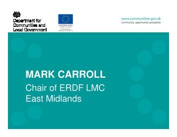 MARK CARROLL - One East Midlands