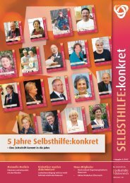 5 Jahre Selbsthilfe:konkret - der ARGE : Selbsthilfe Österreich