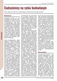 udzoziemcy na rynku budowlanym – Arnold Pabian - Przegląd ...