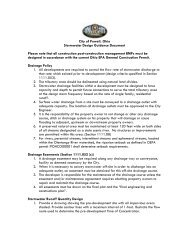 Stormwater Design Guidance - The City of Powell