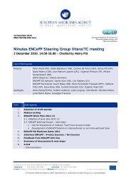 Minutes of the ENCePP Steering Group Vitero Meeting, 2 December ...