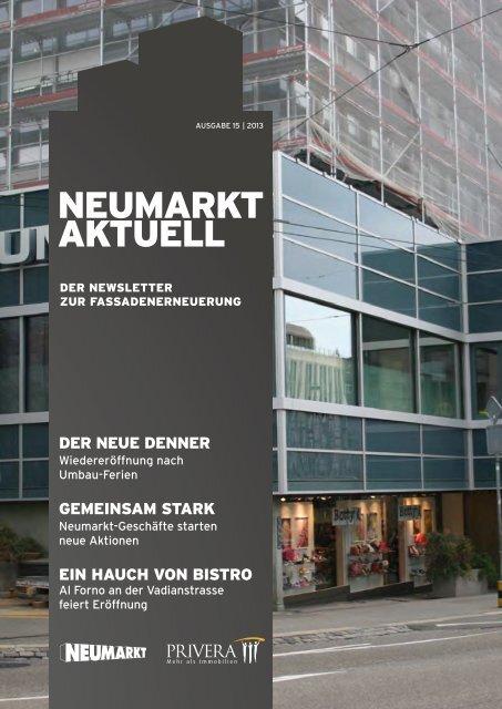 Newsletter 15|2013 - neumarkt-sg.ch