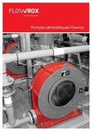 Pompes péristaltiques Flowrox