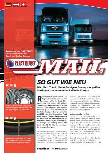 Fleet First Mail Ausgabe 1/2007 - TruckForce
