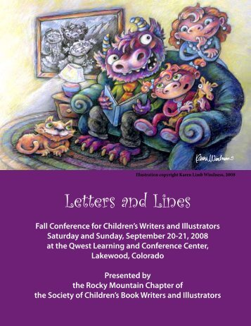 Letters and Lines - SCBWI Rocky Mountain
