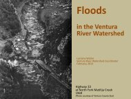 Floods - Ventura River Watershed Council