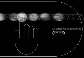 Remote Control User Guide