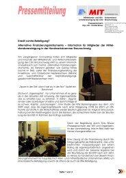 Alternative Finanzierungsinstrumente - BC&T, Business Consulting ...