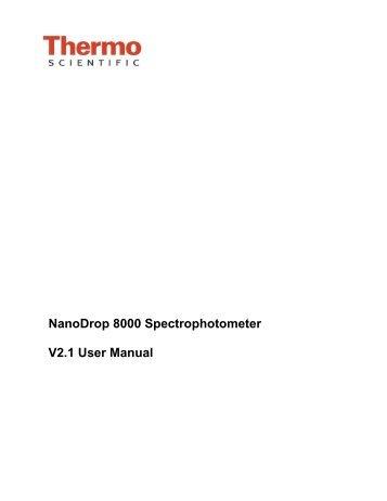 Nanodrop protein quantification | thermo fisher scientific in.