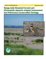 Range-wide Streaked Horned Lark - U.S. Fish and Wildlife Service