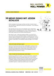 PDF Promille-Risiko-Übersicht - Null Alkohol - Voll Power