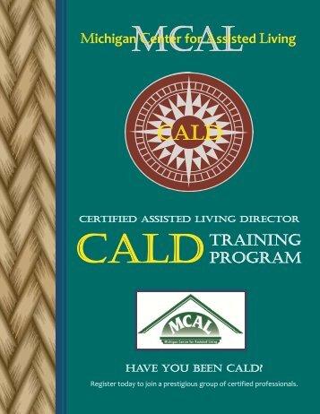 8/28/2013 CALD Brochure .pdf - Health Care Association of Michigan