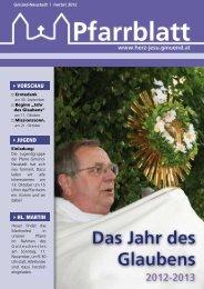 vorschau jugend hl. martin - Herz Jesu Pfarre Gmünd Neustadt
