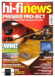 News Levi.pdf - Townshend Audio