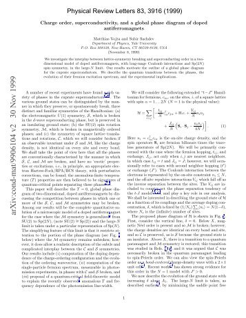Charge order, superconductivity, and a global phase diagram of ...