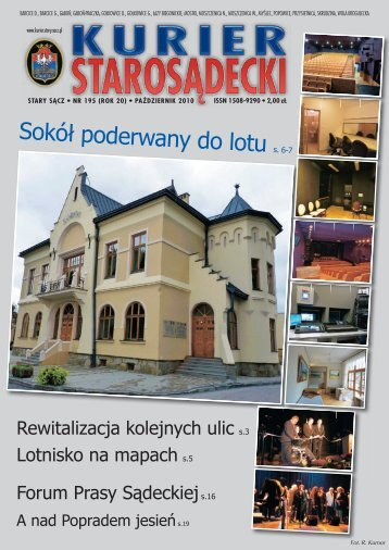 nr 195 październik 2010 - Kurier Starosądecki