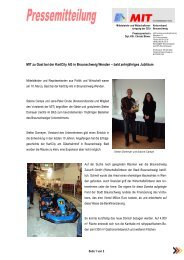 bald zehnjähriges Jubiläum - BC&T, Business Consulting & Training