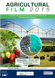 Agricultural Film 2015 English Programme