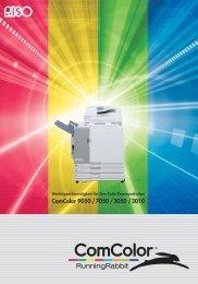 ComColor 9050 / 7050 / 3050 / 3010 - TE Postline GmbH