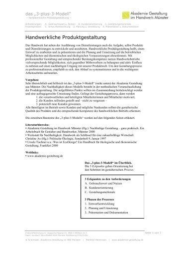 Kurzfassung - Akademie für Gestaltung