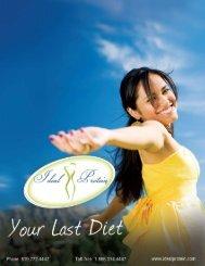 Ideal Protein brochure. - Lourdes Health Network