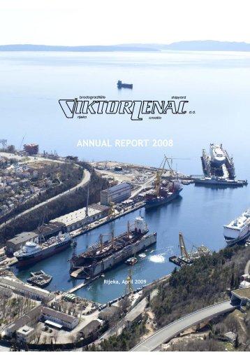 ANNUAL REPORT 2008 - Viktor Lenac