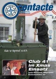Contacte Februar 2009 - Club 41