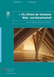 CO2-Effekte der Schweizer Wald- und ... - GEO Partner AG
