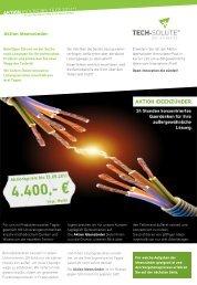 Erfahren Sie mehr... - tech-solute GmbH & Co. KG