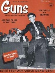 GUNS Magazine April 1960