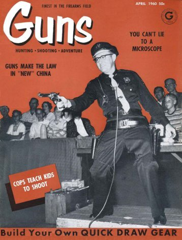 GUNS Magazine April 1960