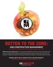 jrm construction management putting a low price ... - builditunion . com