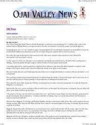 Silt Wars at Ojai Valley News Blog - Friends of the Ventura River