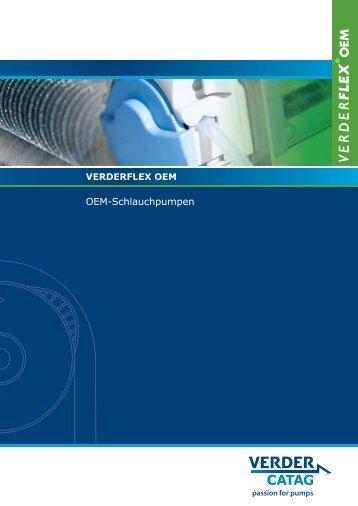 OEM-Schlauchpumpen - Verder AG