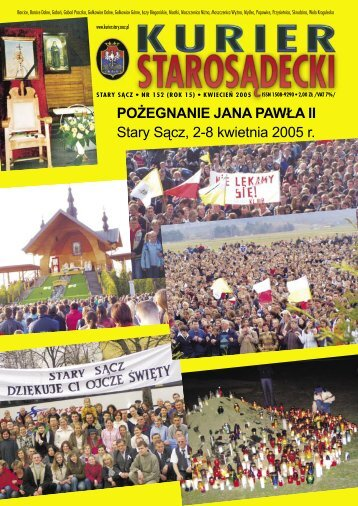 nr 152 kwiecień 2005 - Kurier Starosądecki