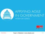Jan. 30   Agile in Government - Rally Software