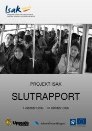 ISAK:s slutrappor - Tema asyl & integration
