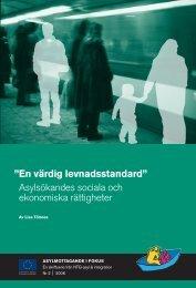 En värdig levnadsstandard - Tema asyl & integration