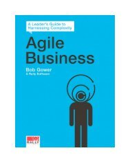 Agile Business: A Leader's Guide to Harnessing ... - Rally Software